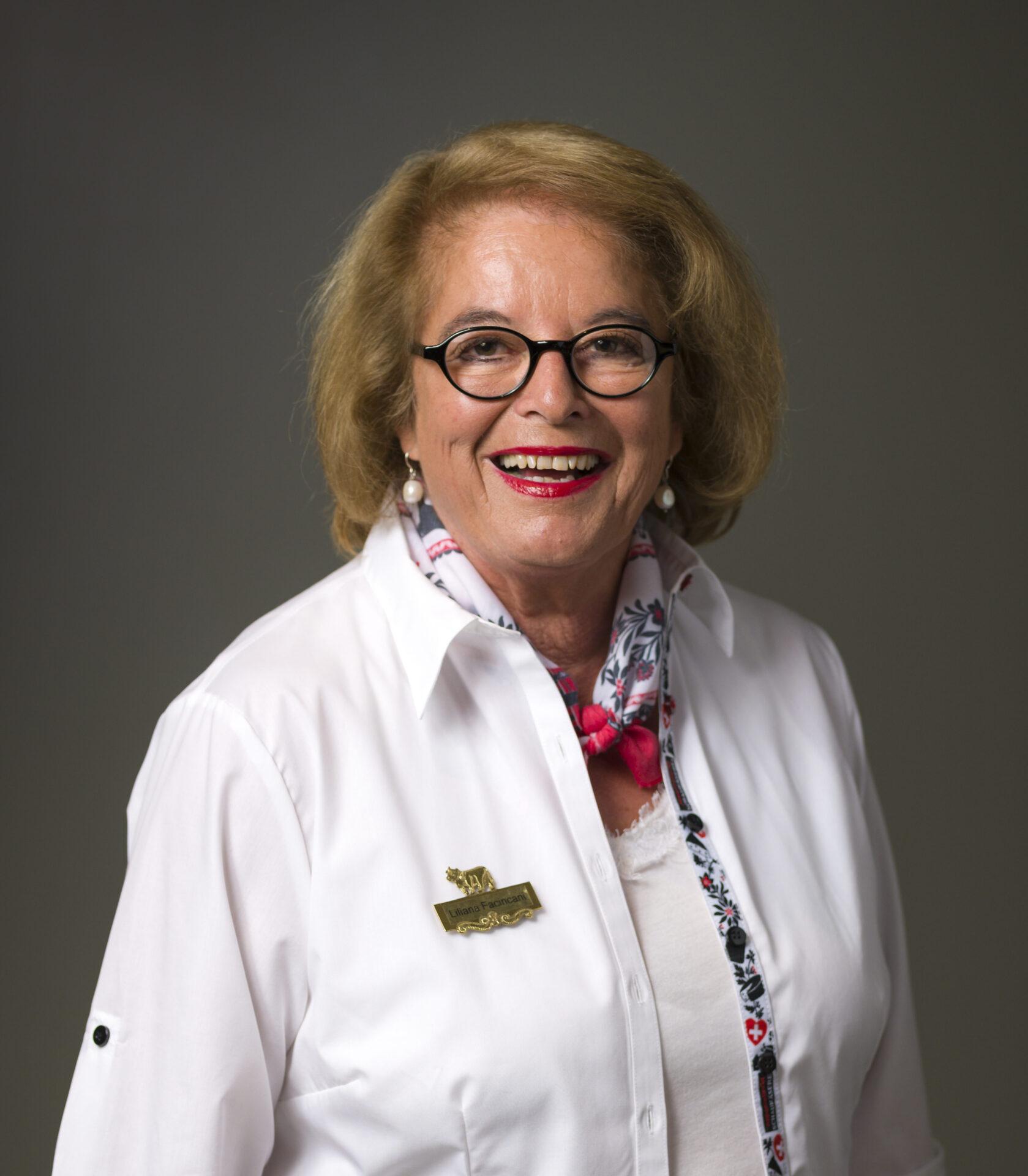 Liliana Facincani, Gastgeberin