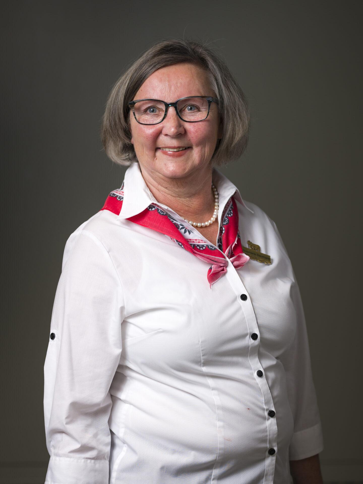 Rosmarie Baumann, Gastgeberin